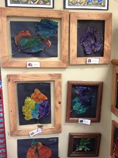 images of reggio inspired classrooms | Reggio Inspired Classroom - Painted leaves | Fun Crafts/Idea's for ...