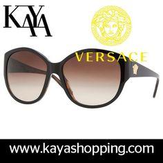 Brown Oversized Retro Glasses