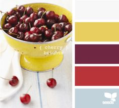 Purple-y red, gold and gray