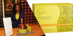 Interview: Daniele Monti on Teavana® Oprah Chai Tea