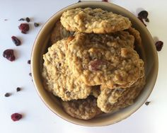 mmm...cookies!! Loaded Oatmeal Cookies {Mom's Kitchen} - A Cedar Spoon