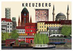 Kreuzberg, Prenzlauer Berg, Friedrichshain e l'Isola dei musei nello sguardo di…