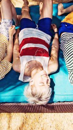[ BTS × RapMon × Summer × Namjoonie is enjoying the sun ]