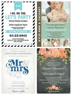 Wedding Invitations from Wedding Paper Divas.