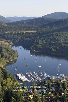 Genoa Bay, Vancouver Island, British Columbia, Canada.