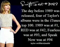 "Win! If only ""Taylor Swift"" was in there too!"