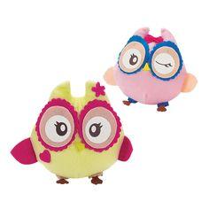 Plush Party Owls - OrientalTrading.com