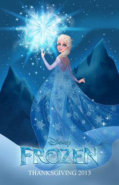 Disney's Frozen Young Elsa | Elsa Frozen Disney Wallpaper HD