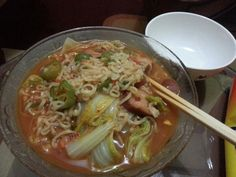 My spicy noodles