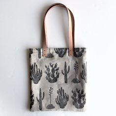 Cactus Tote by ameliemancini on Etsy, $95.00