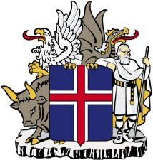 Armoirie de l'Islande