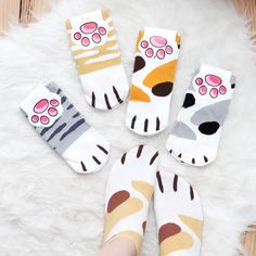 Kitty paws socks