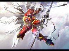 Digimon Dragon's Shadow: Dukemon Crimson mode