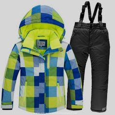 Ski   Snowboard Wear · Kids Psychedelic Waterproof Ski Suit Set Boy  Outfits 0b20444ca