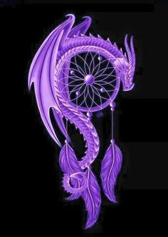 Dragon dreamcatcher