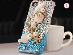 Free Phone Case & Bling Alloy Octopus Starfish by WeChoice2013, $8.95