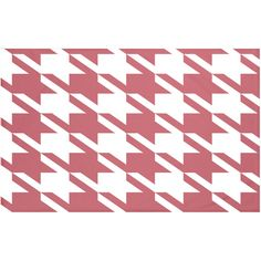 "Houndstooth Geometric Print Throw Blanket Size: 60"" L x 50"" W, Color:... ($75) ❤ liked on Polyvore featuring home, bed & bath, bedding, blankets, houndstooth blanket, houndstooth bedding, geometric pattern bedding, personalized blankets and personalized throw blanket"