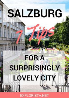 If you love beautiful, cultural cities, Salzburg is your place to be!