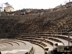The Roman Theaters at Lyon, France. @1Dad1Kid.com