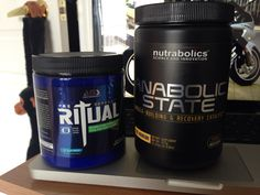 Pre-workout and during workout fuel!