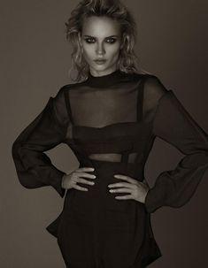 Natasha Poly by Cuneyt Akeroglu for Vogue Turkey September '12 #editorial #fashion #studio