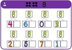 Magnetische rekendoos - splitsen tot 10 Leader In Me, Teaching, School, Maths, Stage, Mini, Proposals, Lyrics, Calculus