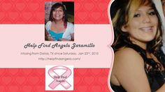 Help Find Angela Jaramillo Flyer