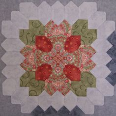 My second favorite Patchwork of the Crosses block done so far.