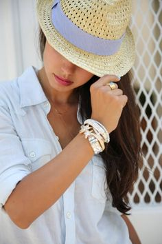 A Few Of My Favorite Things... ( Bracelets & Bangles & Hats )