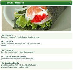 Beim Sushi Taxi Düsseldorf werden Ihnen die besten Temaki Handrolls zubereitet und geliefert, egal ob Sie gerade im Büro, im Hotel oder zu Hause sind. Probieren Sie die Temaki Handroll Sushi Spezialitäten vom Man Thei Sushi Lieferservice Düsseldorf. http://sushiduesseldorf.wordpress.com/2012/09/17/premium-temaki-handroll-sushi-spezialitaten-vom-sushi-taxi-dusseldorf/