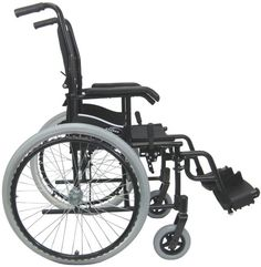 Karman 24 pounds LT-980 Ultra Lightweight Wheelchair Black  Karman 24 pounds LT-980 Ultra Lightweight Wheelchair Black Karman Healthcare continues to innovate and pioneer the ultra lightweight wheelchair category by offering the LT-980 series. At just about 24 pounds without footrest, the LT-980 series continues to push the envelope in design, function, and appeal for non custom, ultra lightweight wheelchairs. Utilizing the lightest, yet strongest aluminum, the LT-980 is equipped wit..