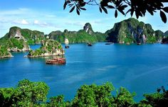 Located in northeastern Vietnam, Ha Long Bay is part of the western coast of the Gulf of Tonkin, including the waters of Ha Long City, Cam Pha town and part of Van Don island district. The world-recognsied Heritage Area of 434 sq.m includes 775 islands shaped in a triangle with three vertices, the island of Dau Go (west), Ba Ham Lake (south) and Cong Tay Island (east).   #Ha Long Bay #Ha Long Bay Quang Ninh Vietnam #Ha Long Bay Tours #Halong Bay Attractions #Halong Bay Caves
