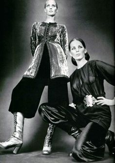 L'Officiel magazine 1970 Saint Laurent - Léonard