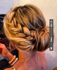 Neat - Side Bun Wedding Hair prom, braid, hair, updo | CHECK OUT SOME COOL PICS OF TASTY Side Bun Wedding Hair HERE AT WEDDINGPINS.NET | #sidebunweddinghair #naturalhair #weddinghairstyles #weddinghair #hair #stylesforlonghair #hairstyles #hair #boda #weddings #weddinginvitations #vows #tradition #nontraditional #events #forweddings #iloveweddings #romance #beauty #planners #fashion #weddingphotos #weddingpictures