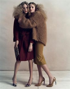 I love the maroon and mustard. These colors are amazing and the outfits are so elegant and chic.