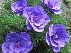 Realistic flowers from foamirana