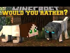 Popularmmos Minecraft  WOULD YOU RATHER ! WEIRDEST QUESTIONS EVER! Mini ...