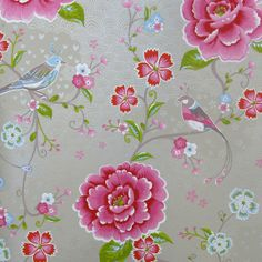 Pip Studio Birds of Paradise Khaki wallpaper - Daisy Park