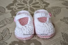 Well, it has been a while since I have come up with a new pattern all my very own. I wanted to make a really cute little Mary Jane slipper,...
