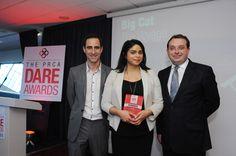 Big Cat win at the PRCA DARE Awards Midlands - Birmingham