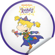 """Originals by Italia just locked the Rugrats: Angelica Pickles sticker on GetGlue  Unlike Angelica, you know the Rugrats are not """"dumb babies!"""" Thanks for being so loyal to the Rugrats. You're as good a friend to the gang as Cynthia is to Angelica! Share this one proudly. It's from our friends at TeenNick."""