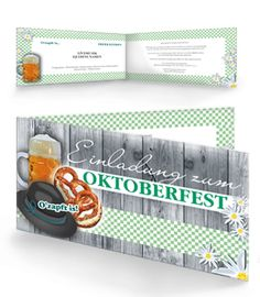Vorlagen für Einladungskarten jetzt online kaufen. #einladungskarten #oktoberfest #oktober