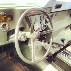 Behind the wheel of a USMC Humvee. http://instagram.com/moa1976