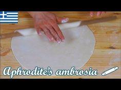 Σπιτικό Φύλλο για Πίτα No1 - Τέσσερα χοντρά φύλλα για αλμυρές πίτες - YouTube