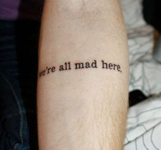 The Best Literary Quotes Ever Tattooed – Flavorwire