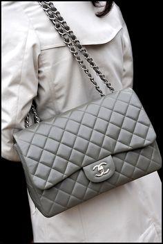 Gray classic Chanel <3