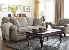 Classic sofa style, updated color scheme
