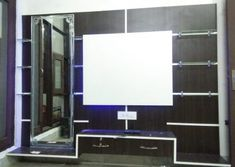 Lcd wall units family rooms that exploit the cornor space open up whatever is lot of the space for more versatile settlement, Lcd Units, Modern Tv Wall Units, Wall Tv, Tv Unit Design, Ceiling Design, Family Room, The Unit, Interior, Furniture