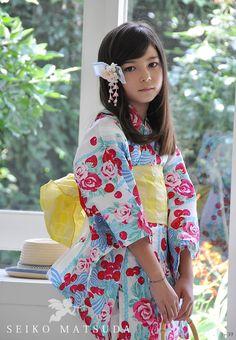 seiko matsuda 聖子子供浴衣