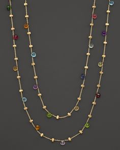 "Marco Bicego ""Paradise Collection"" Gold Necklace, 47.25""L 